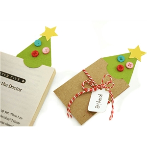 tree gift card bookmark