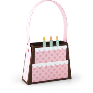 birthday cake bag