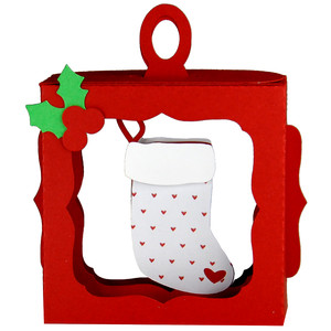 christmas stocking hanging ornament