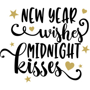 new year wishes midnight kisses