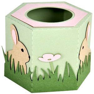baby bunny easter egg cup