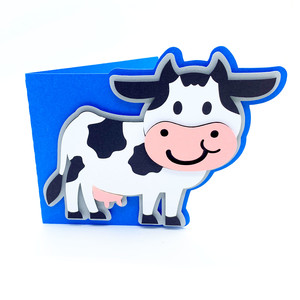 baby cow card