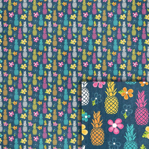 pineapples background paper