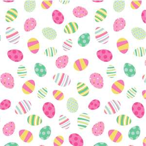 easter egg multi pattern
