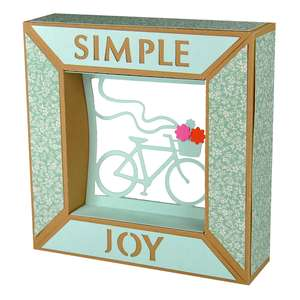 simple joy bicycle framed