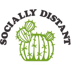 socially distant cactus