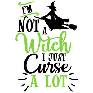 not a witch curse a lot