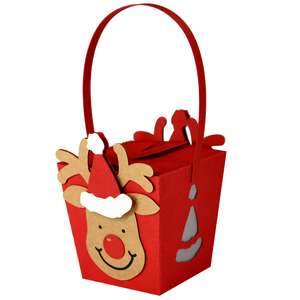 hanging rudolph box ornament lantern