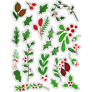 ml mistletoe stickers