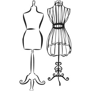 carta bella dress form