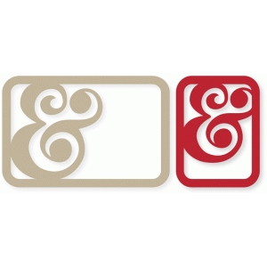 ampersand cards