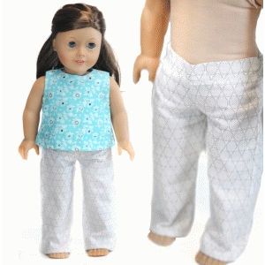pants for 18-inch doll