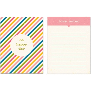 oh happy day journaling cards