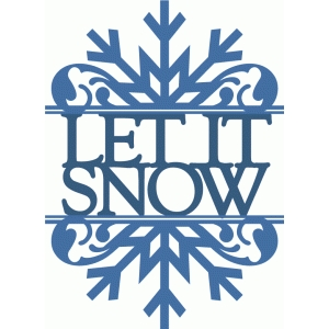 let it snow split damask flourish
