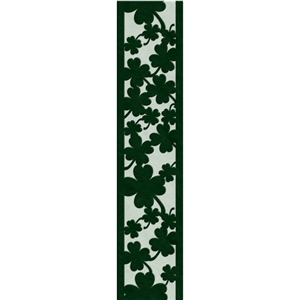 clover ribbon / border