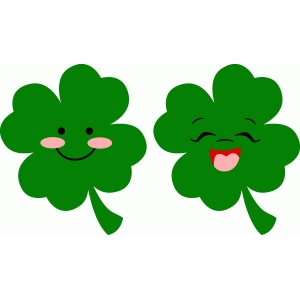 smiling shamrocks