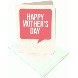 happy mother's day a2 card