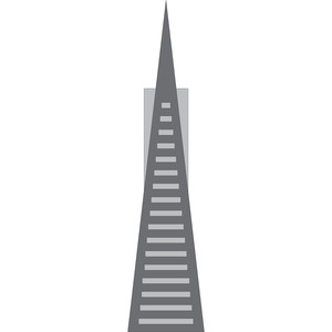 transamerica pyramid - san francisco icon