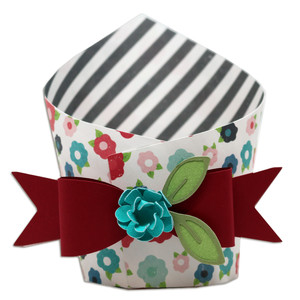 wrap box with bow