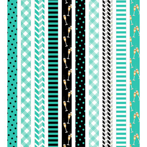 new years washi tape