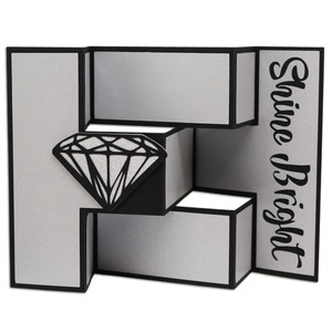 shine bright diamond tri-shutter card