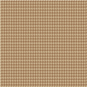 houndstooth pattern brown