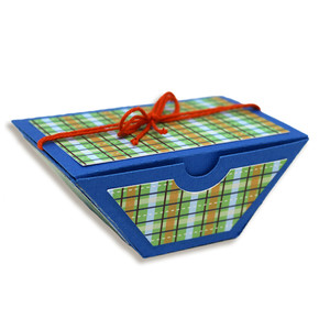 small trapezoid gift box