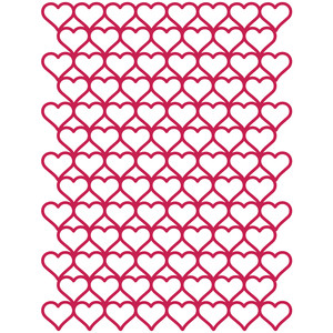 hearts background 8.5x11