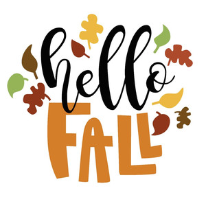 hello fall phrase