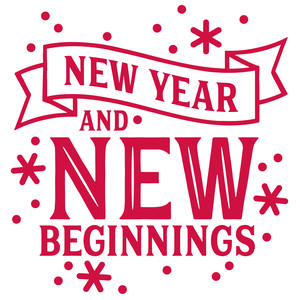 new year and new beginnings