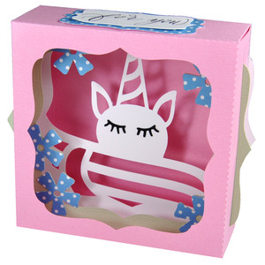 unicorn nap gift card box