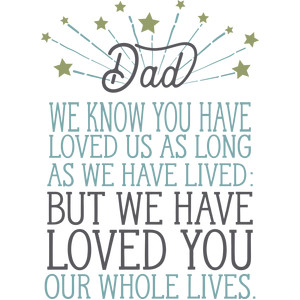 dad we have loved you