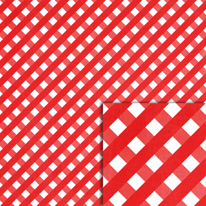 red christmas gingham background paper