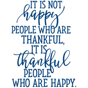 thankful people