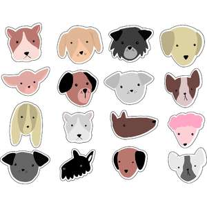 ml dog bark stickers
