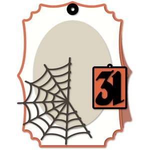 tag halloween large easel kit