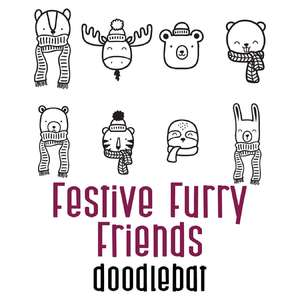 festive furry friends doodlebat