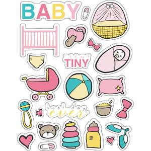 ml little baby baby stickers