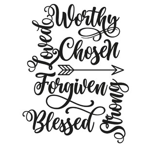 faith word art