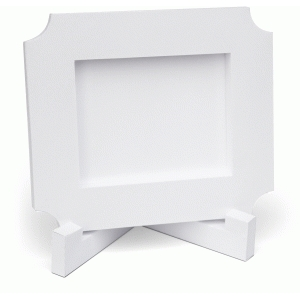 3d lori whitlock ticket shaped frame
