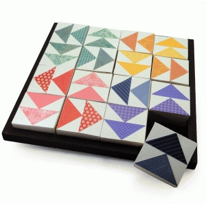 quilt blocks puzzle flying geese