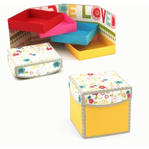 3d lori whitlock layered shelf box