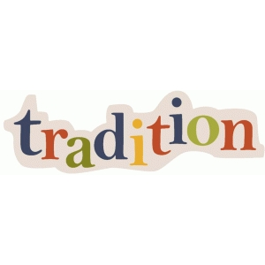 'tradition' phrase