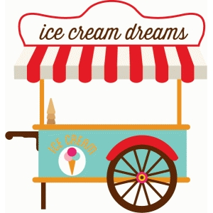 echo park ice cream cart
