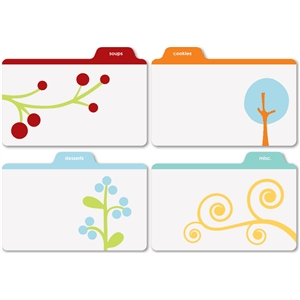 printed recipe tabs-3