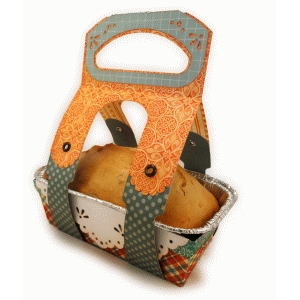 tray and tote for mini loaf