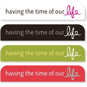 'time of life' sideline tabs