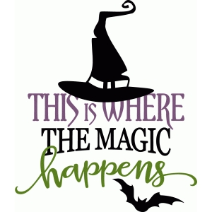 this is where the magic happens - witch phrase