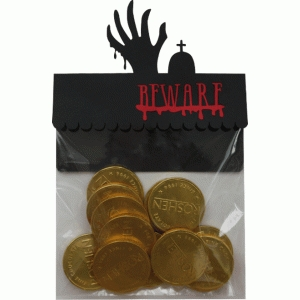 treat bag topper - zombie
