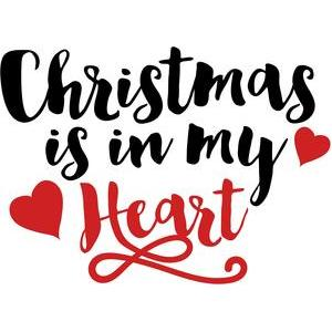 christmas is in my heart quote